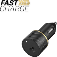 OtterBox Premium Fast Charge Usb C Car Charger 18w - Black Shimmer