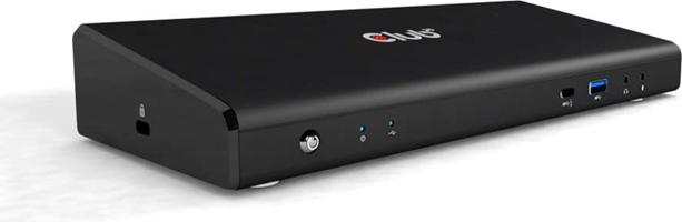 Club3D - USB-C 3.2 Gen 1 Universal Triple 4K Charging Dock 60W