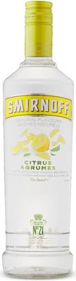 Diageo Canada Smirnoff Citrus Vodka 750ml