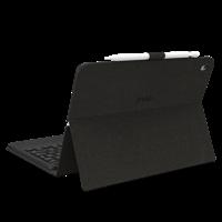 Zagg - Messenger Folio Backlit Bluetooth Keyboard Case For Apple Ipad Air 10.5 2019
