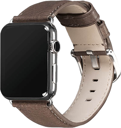 Apple Watch 42mm Heritage Watch Band - Grey Leather