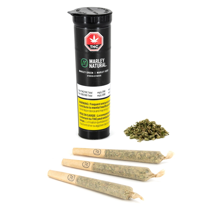 Product image of Marley Green - Marley Natural - Pre-Roll