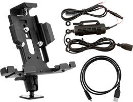 Arkon Mounts Powered Locking Tablet Mount Security Bundle for Commercial and Enterprise