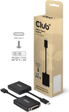 Club3D - USB-C 3.1 Gen 1 Male to DVI-D Female Active Adapter
