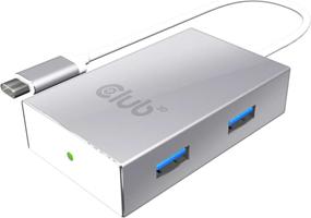 Club3D - USB-C 3.1 Gen 1 to 4 USB/USB 3.1 Gen 1 inclusive 1 Port BC 1.2 Charging