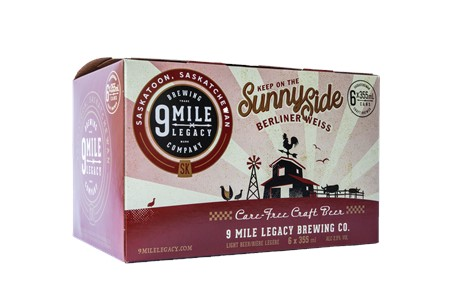 9 Mile Legacy Brewing Company 6C 9 Mile Legacy Sunnyside Berliner Weiss 2130ml
