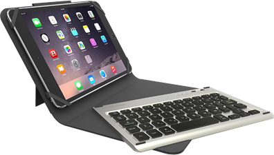 PureGear Universal Keyboard Folio Case - Fits Most 8.9 To 10.1 Inch Tablets