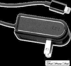 PureGear Lightning 2.4A Travel Charger w/ Additional USB Port