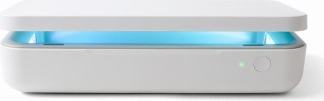 Samsung UV Sanitizer w/ White Wireless Charging