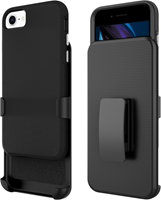 Blu Element iPhone SE 2020 Armour 2X Case and Holster Combo