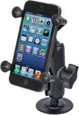 RAM Mounts Flex Adhesive Mount with X-Grip Phone Holder
