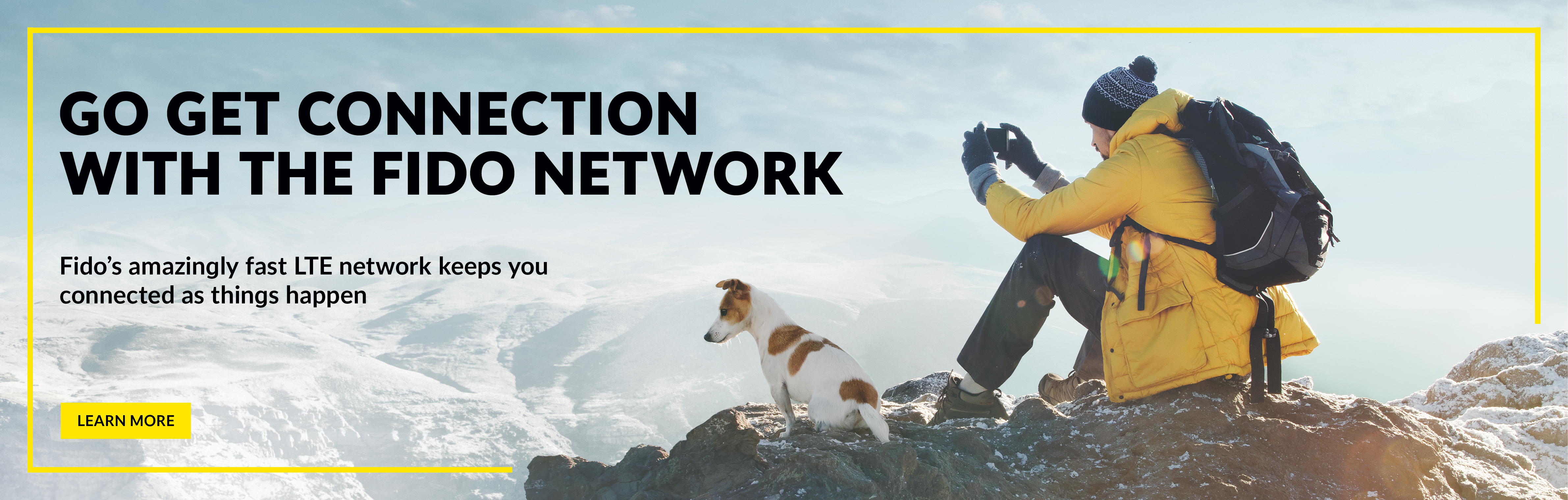 Go get connection with the Fido network