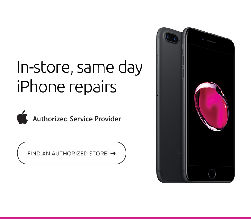iPhone Repair and Service Banner