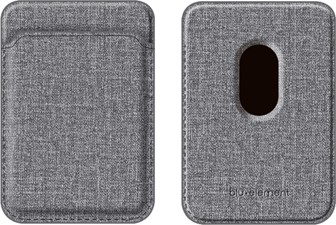 Blu Element - iPhone 12/12 Pro/12 Pro Max/mini MagSafe Compatible Card Holder Wallet