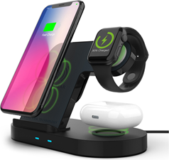 HyperGear Hypergear 15W 3-in-1 Wireless Charging Dock