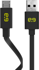 PureGear Flat Charge/Sync microUSB Cable