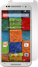 Gadget Guard Moto X (2014) Black Ice Edition Tempered Glass Screen Protector
