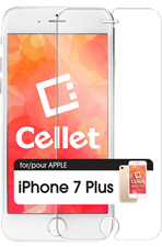 iPhone 7 Plus Cellet Premium Tempered Glass Screen Protector