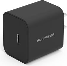 PureGear 15W Black Single Port USB-C Wall Charger Hub