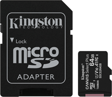Kingston MicroSDXC Class 10 Flash Memory Card