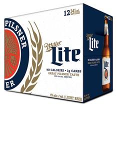 Molson Breweries 12B Miller Lite 4092ml
