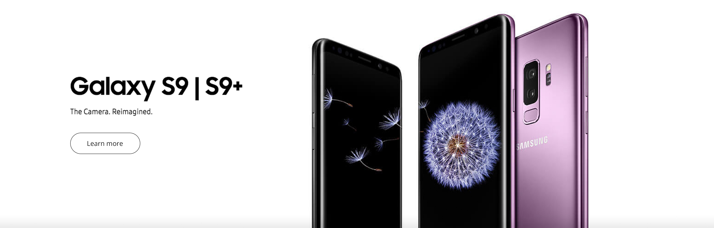 Samsung Galaxy S9 and S9+ from Verizon