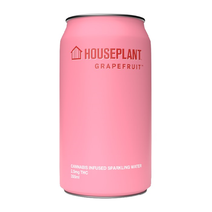 Grapefruit Sparkling Water - Houseplant - Sparkling Water