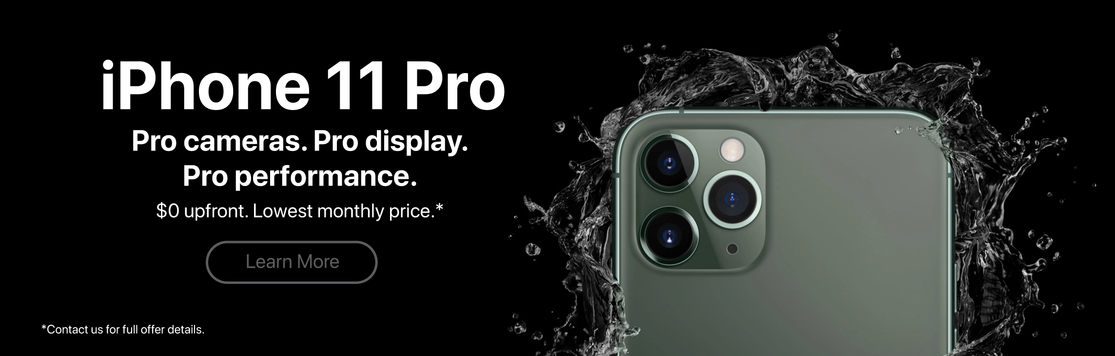 Get the iPhone 11 Pro Now!