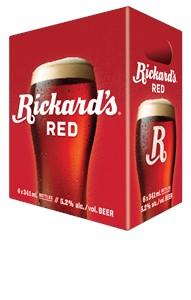 Molson Breweries 6B Rickard's Red 2046ml