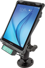 RAM Mounts Galaxy Tab E 8.0 RAM IntelliSkin Transport Bundle