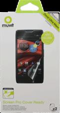 Muvit Motorola Droid Maxx Curvy Screen Protector (2PK)