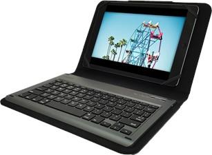 PureGear Universal Keyboard Folio Case for 8.9-10.1'' Tablets