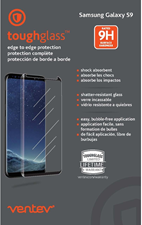 Ventev Galaxy S9 Toughglass Edge-to-edge Screen Protector