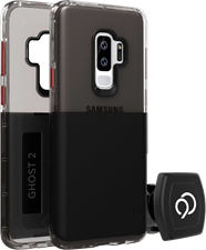 Nimbus9 Galaxy S9+ Ghost 2 Case with Rotating Magnetic Wall And Vent Mounts