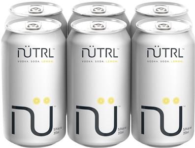 Mike's Beverage Company 6C Nutrl Vodka Soda Lemon 2130ml