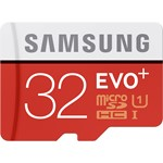 Samsung MicroSDXC EVO+ Memory Card w/ Adapter 32GB