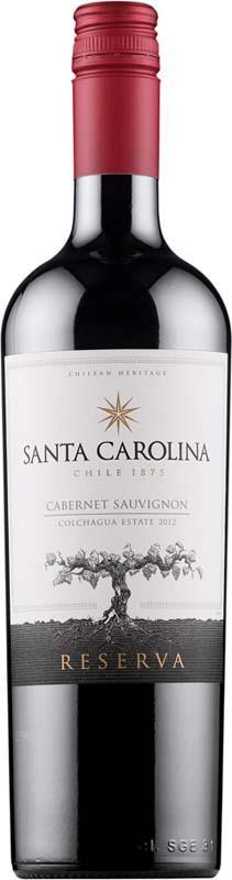 Santa Carolina Reserva Cab Sauvignon 750ml