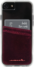 Velvet Pockets Card Holder
