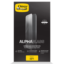 OtterBox Clearly Protected Alpha Glass Screen Protector For Motorola Moto G Power