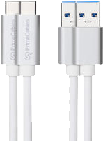 Qmadix USB 3.1 USB-C to USB-C 3.3' Data Cable