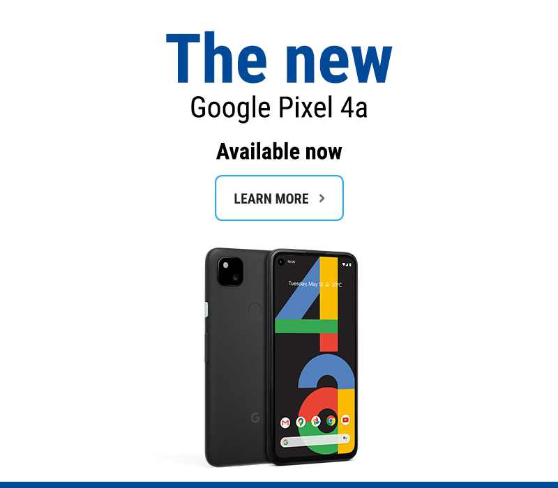 Learn more about Google Pixel 4a