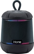 iHome - Waterproof Shockproof BT Speaker w/Accent Lighting