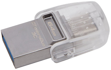 Kingston Data Traveler microDuo 3C USB 3.0 64GB