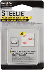 Nite Ize Steelie Tablet Magnet Socket Adhesive Replacement Kit