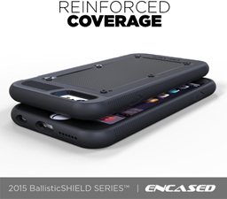 iPhone 6 Plus Encased BallisticSHIELD Reinforced Bumper Protection