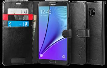 Spigen Galaxy Note 5 SGP Wallet S Case