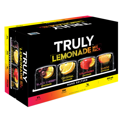 Wett Sales & Distribution 24C Truly Hard Seltzer Lemonade Mix Pack 8520ml