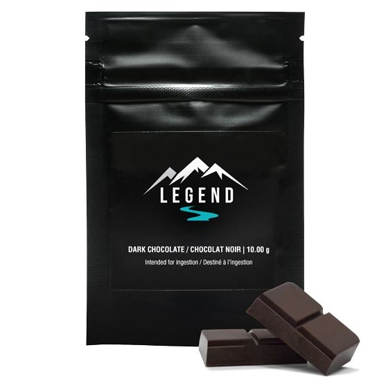 Dark Chocolate - Legend - Edible