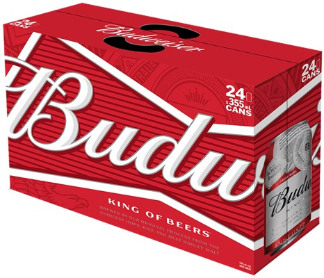 Labatt Breweries 24C Budweiser 8520ml