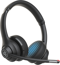 JLab Audio - Go Work Wireless On-Ear Headphones - Black
